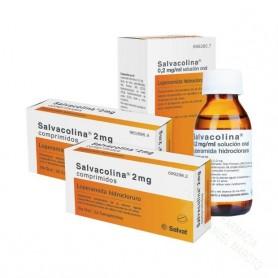 SALVACOLINA 2 MG COMPRIMIDOS , 20 COMPRIMIDOS