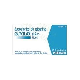 GLYCILAX NIÑOS SUPOSITORIOS , 15 SUPOSITORIOS